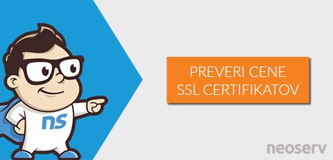 NEOSERV - SSL certifikati